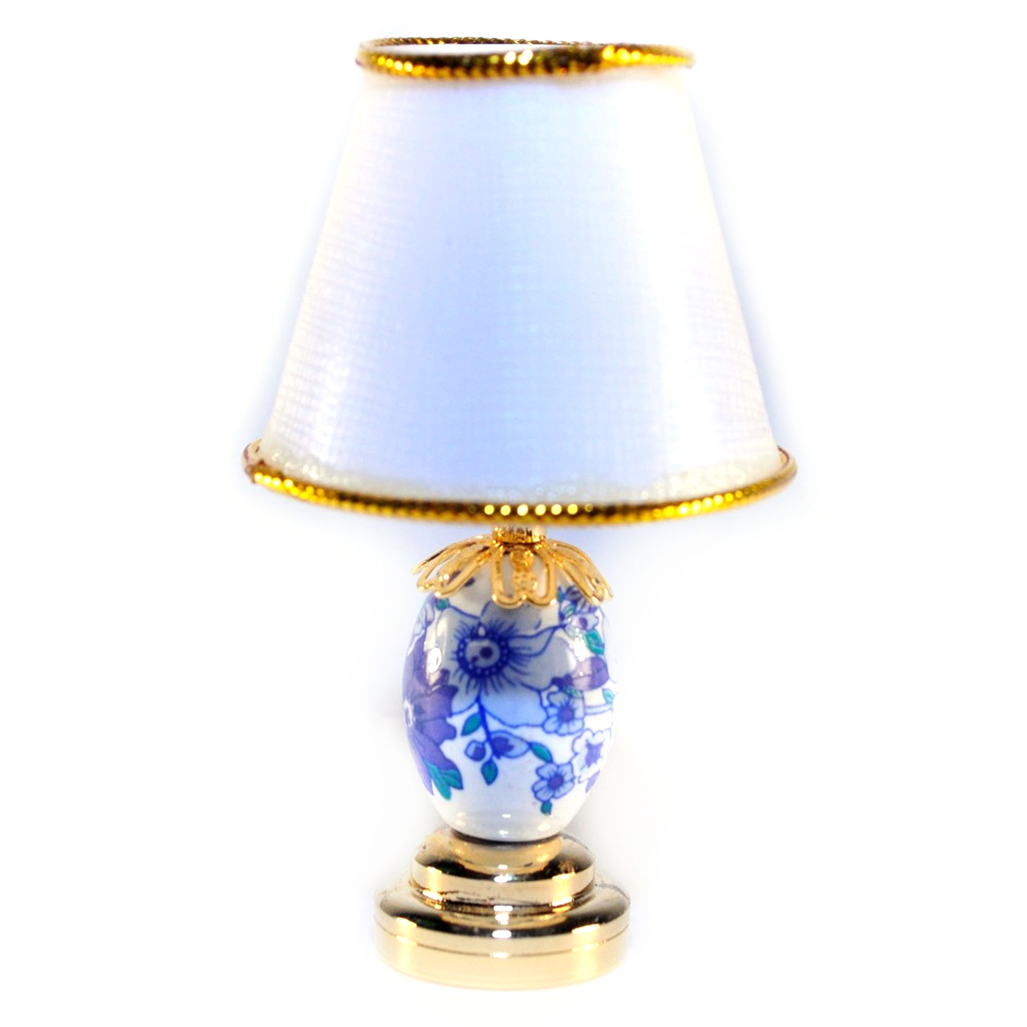 1:12 Scale 12cm Single Garden Lantern Coach LED Light Dolls House Lamp DE307