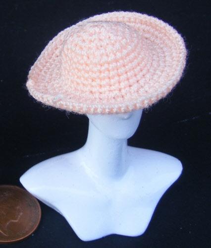 Dolls House Miniature Crochet Dresses And Hats