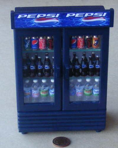 1:12 Scale Non Working Water Cooler That Lights Up Tumdee Dolls House Drink