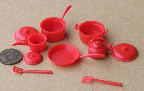 1:12 Scale Single Tap Ceramic Garden Pot tumdee Dolls House Accessories C26