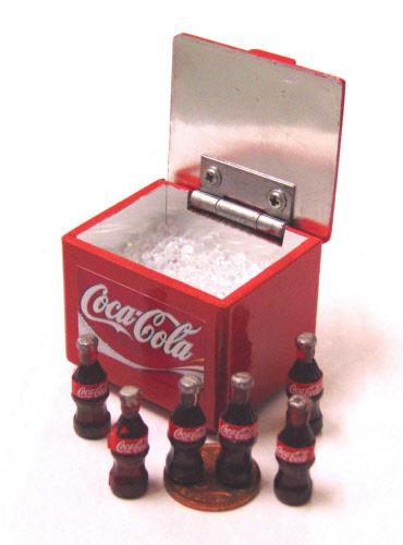 Dolls House Miniature Coke Amp Pepsi Coolers